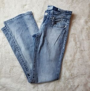 Daytrip aquarius flare light blue jeans size  27R